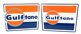 Lot Of 2:  Different Gulftane Signs.