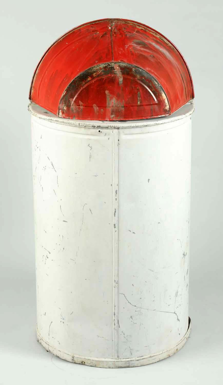 Lot detail polarine motor oil barrel w original decal for Motor oil by the barrel