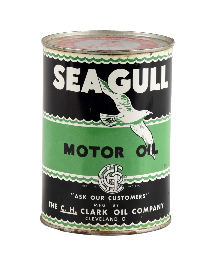 Seagull Motor Oil One Quart Can.