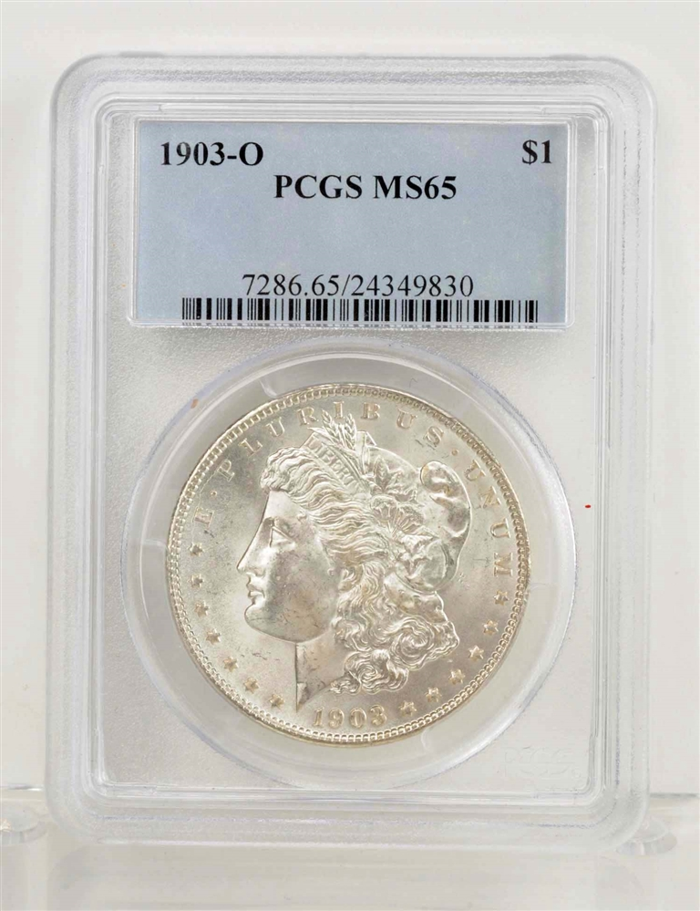 1903-O Morgan Silver Dollar.
