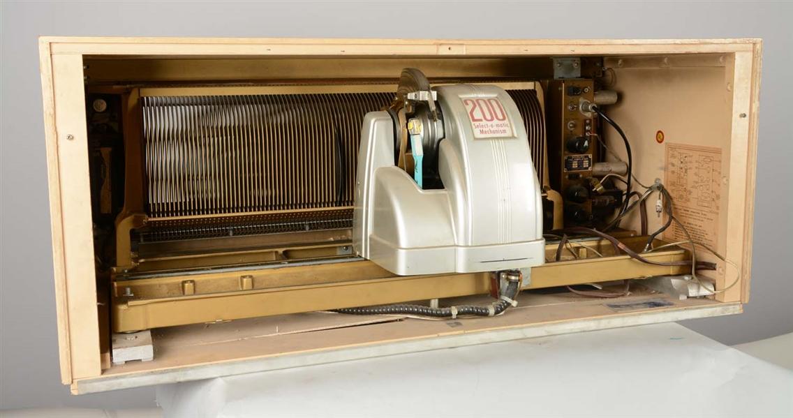 Lot Detail - Seeburg Select-O-Matic 200 Library Unit Jukebox