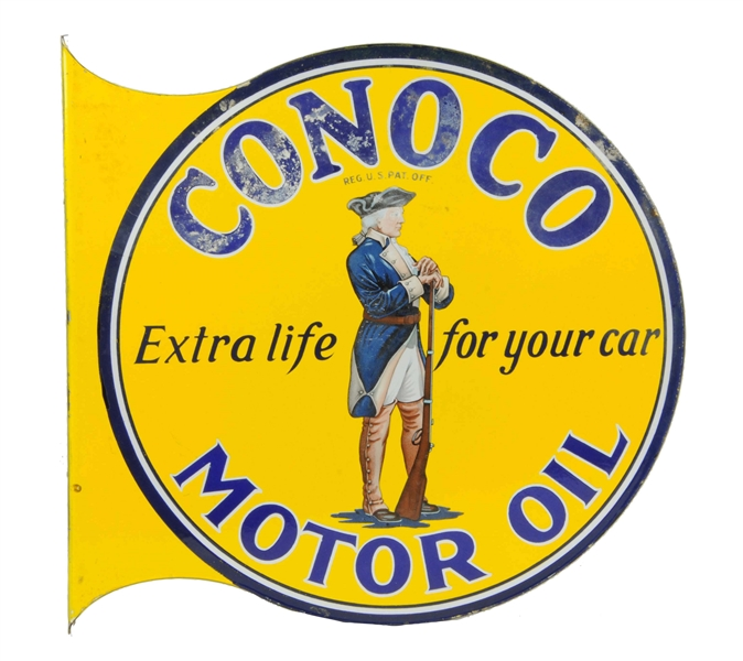 Lot Detail - Conoco Motor Oil