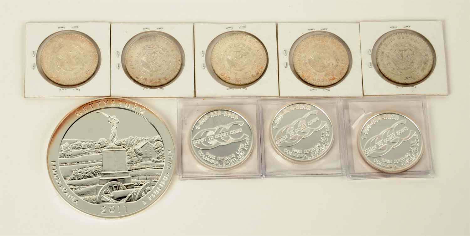 2017D US Mint In Nice Holder Six Coin Set NA $1 JFK 1//2,1//4,DIME,NICKEL,CENT