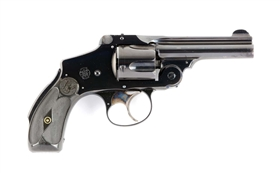 (C) S&W .38 Safety 5th Model Double Action Revolver.