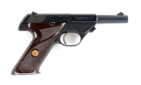 (C) Hi-Standard Model 103 Semi-Automatic Pistol.