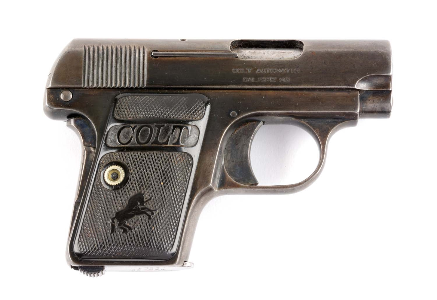 (C) Colt Model 1908 Semi-Automatic Pistol.