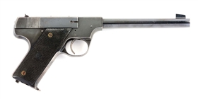 (C) Hi-Standard Model B Semi-Automatic Pistol.
