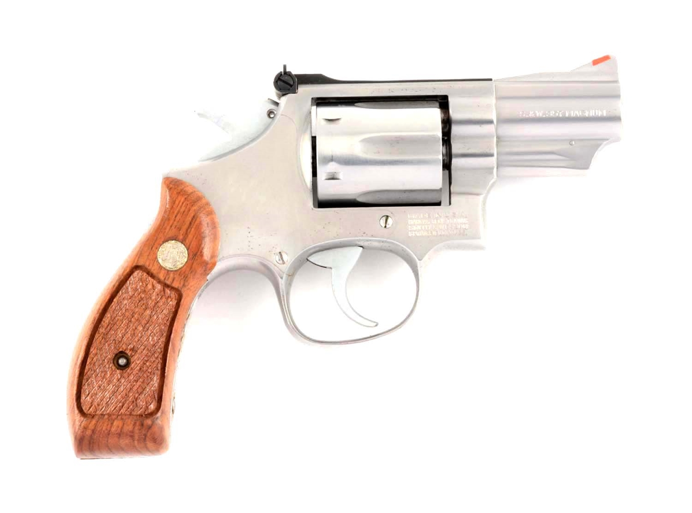 (M) S&W Model 66-2 Double Action Revolver.