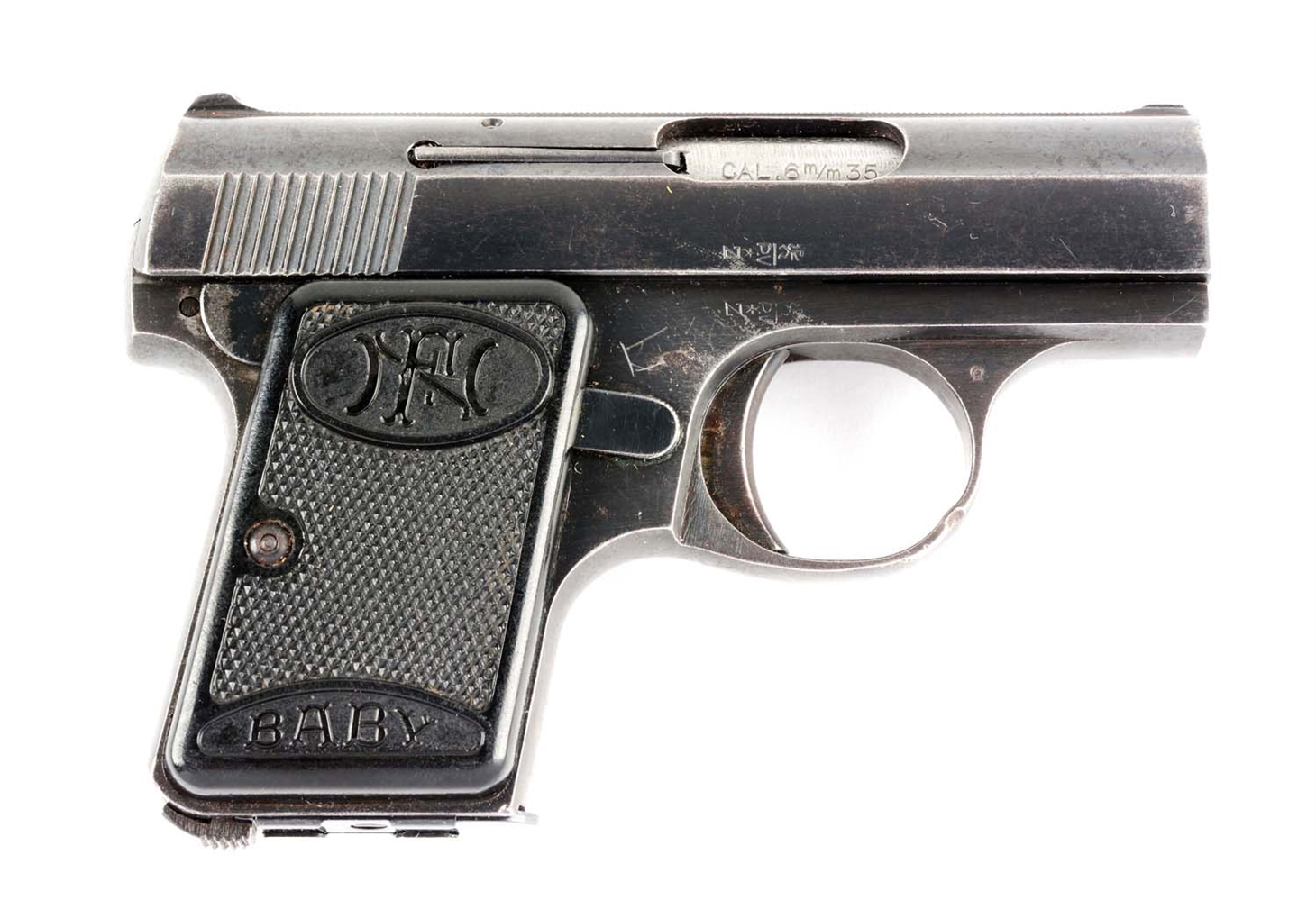 (C) FN Browning Baby Pocket Pistol.