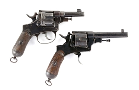 (C) Lot Of 2: Vintage Double Action Revolvers.