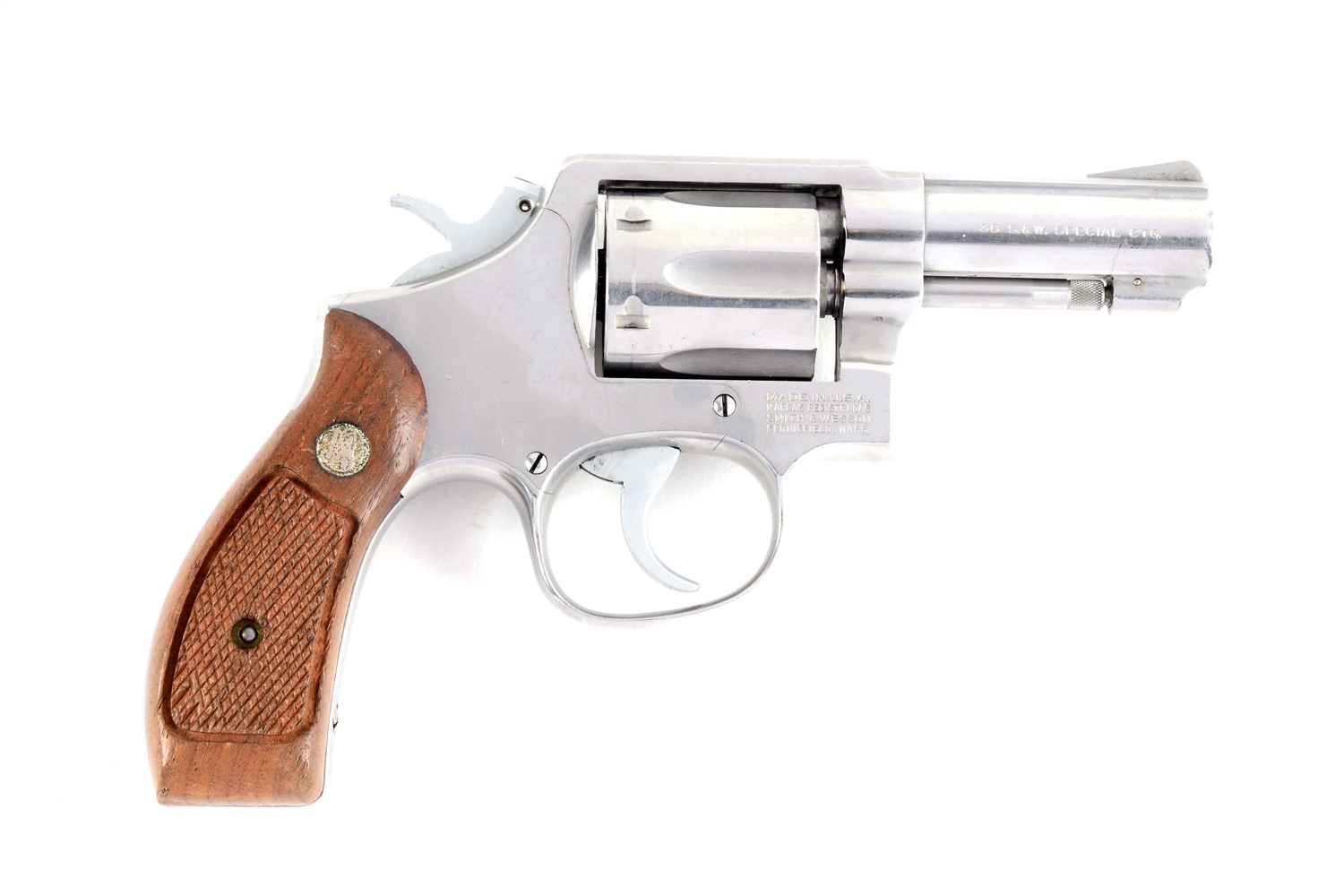 (M) S&W Model 64-3 Double Action Revolver.