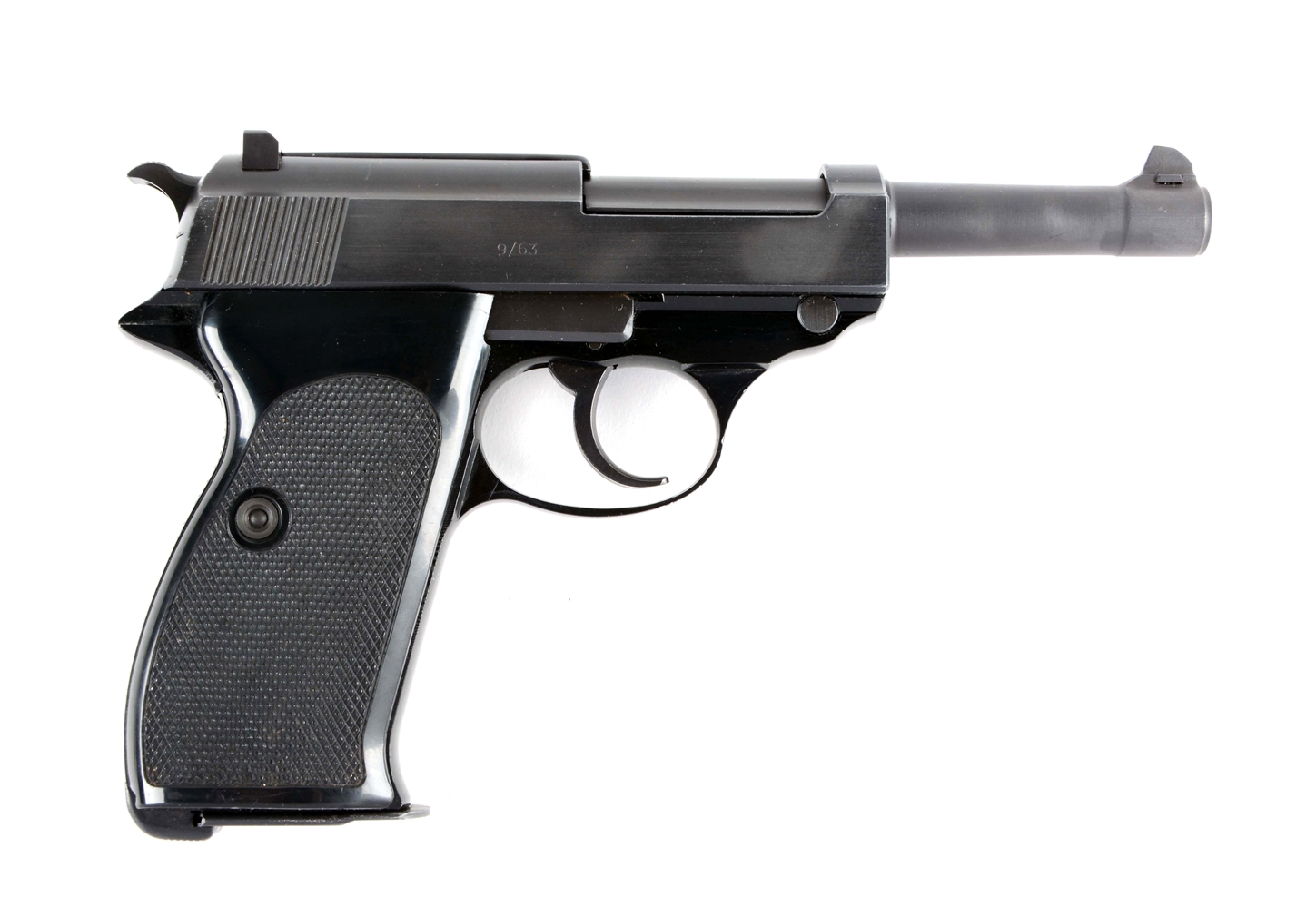 (C) Post-War Walther P.38 Semi-Automatic Pistol.