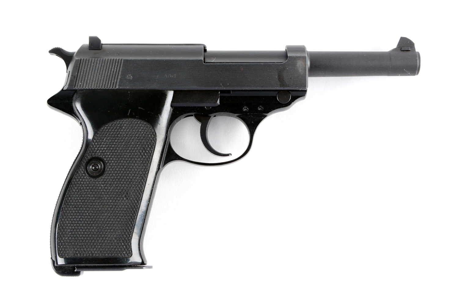 (C) Post War Walther P.38 Semi-Automatic Pistol.