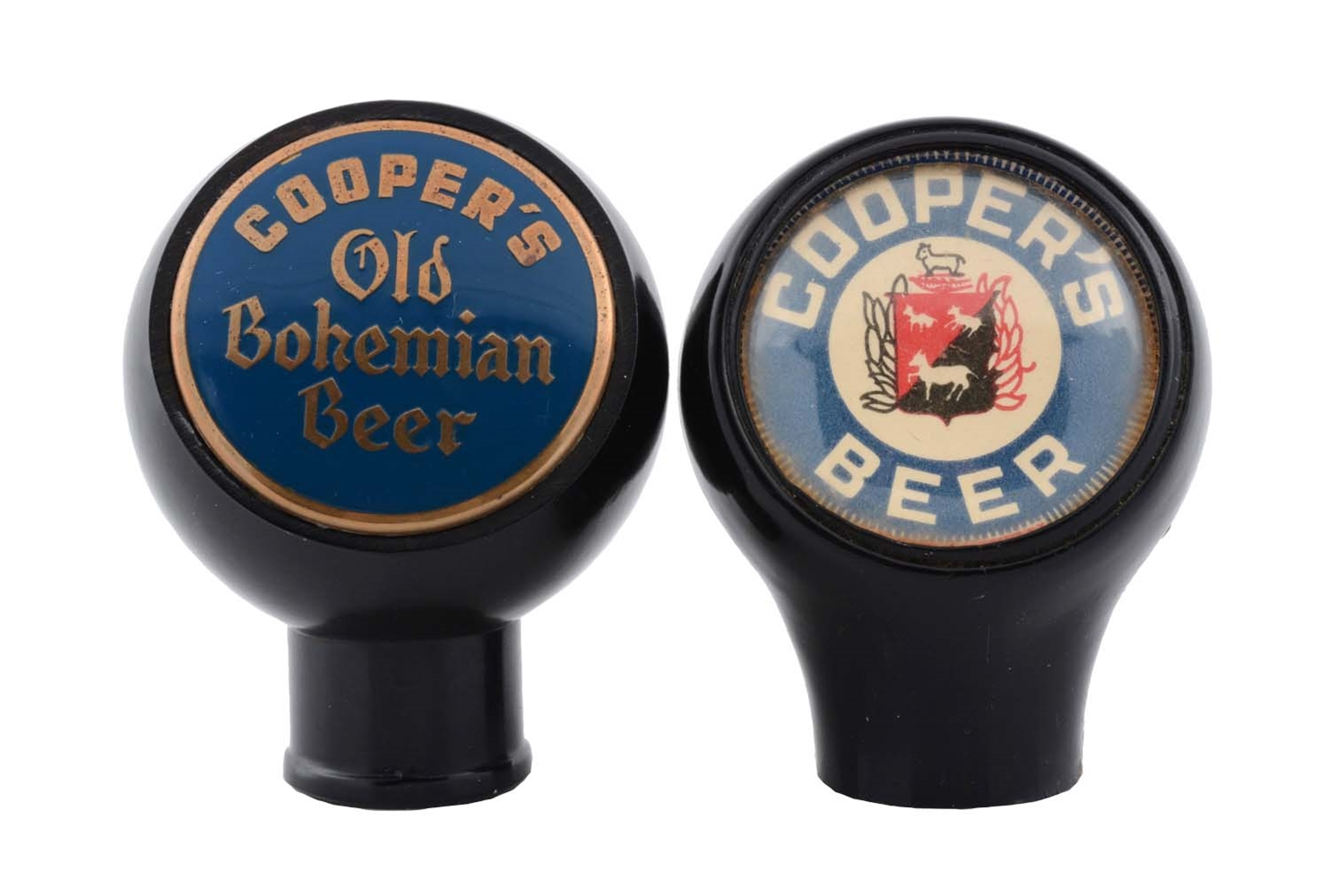 Lot Of 2: Coopers Beer Tap Knobs.