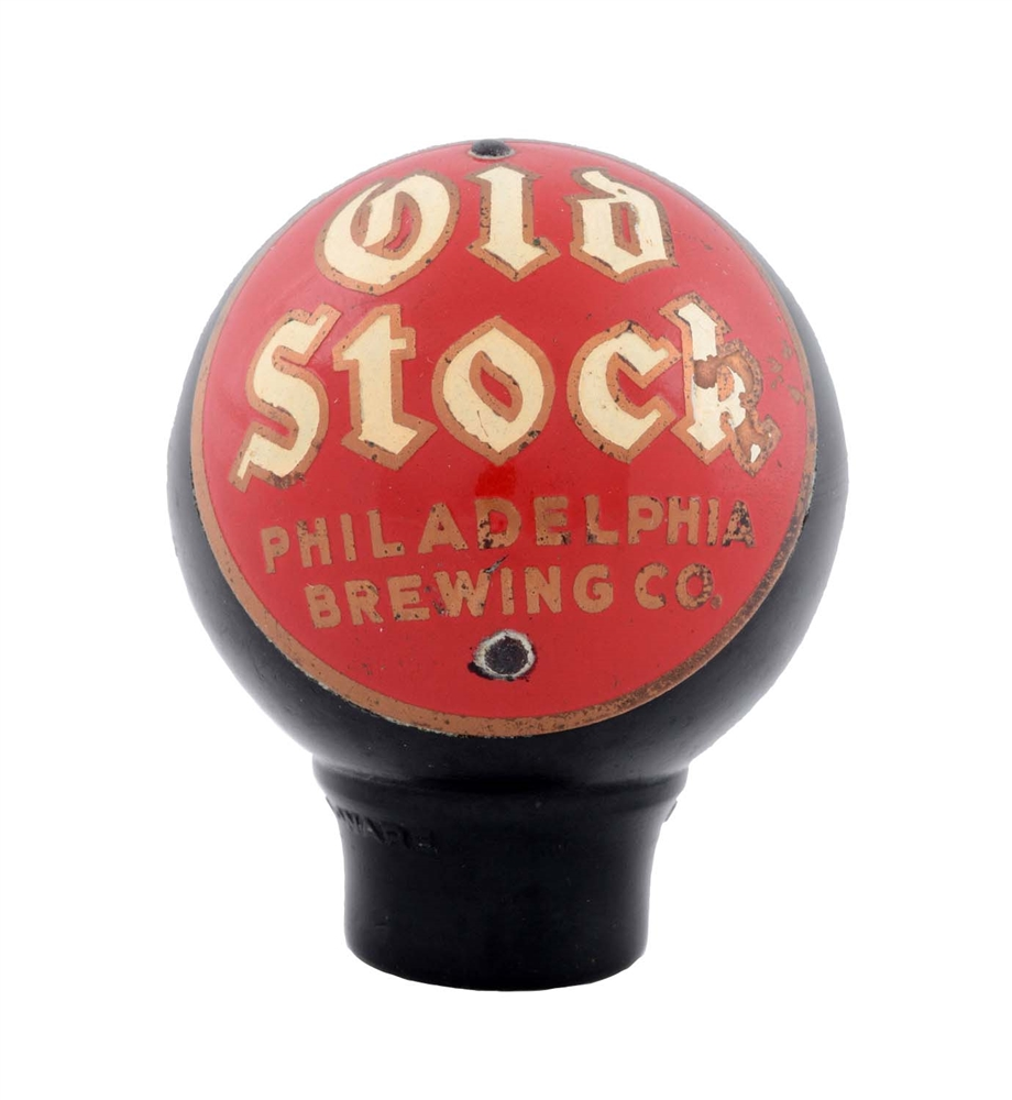 Old Stock Beer Daka-ware Tap Knob.