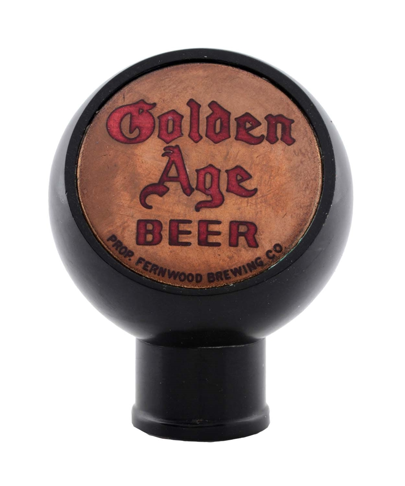 Golden Age Beer Tap Knob.
