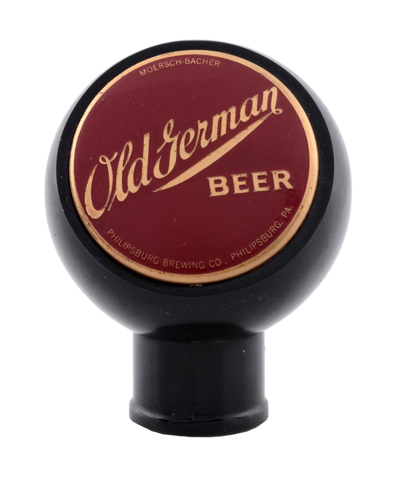Moersch-Bacher Old German Beer Tap Knob.