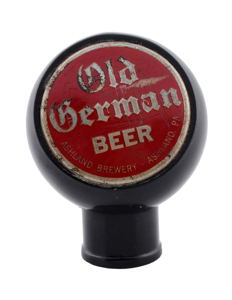 Old German Beer Tap Knob.