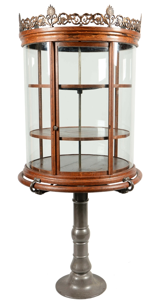 Antique Rotating Showcase.