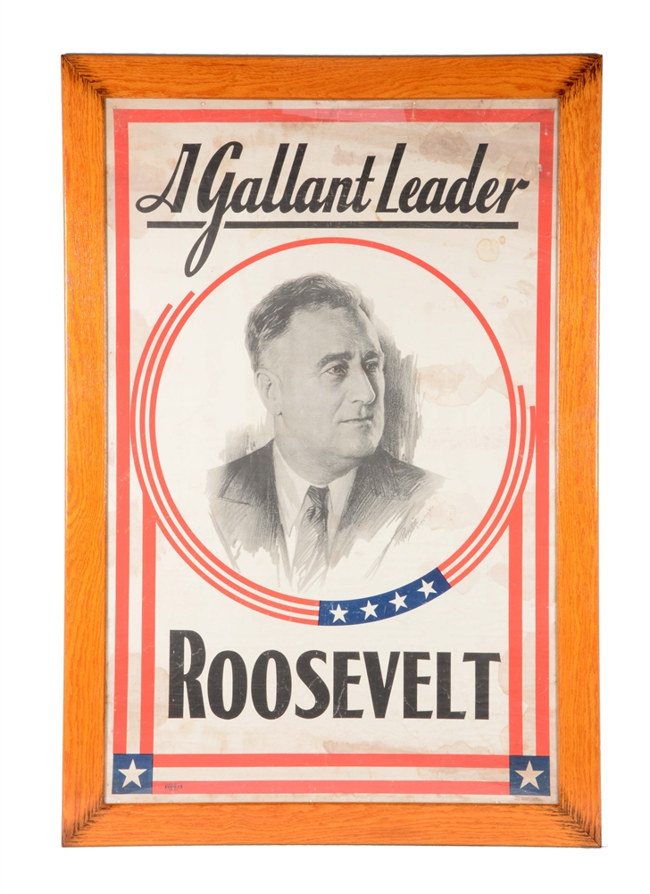 Roosevelt Presidential Campaign Poster.
