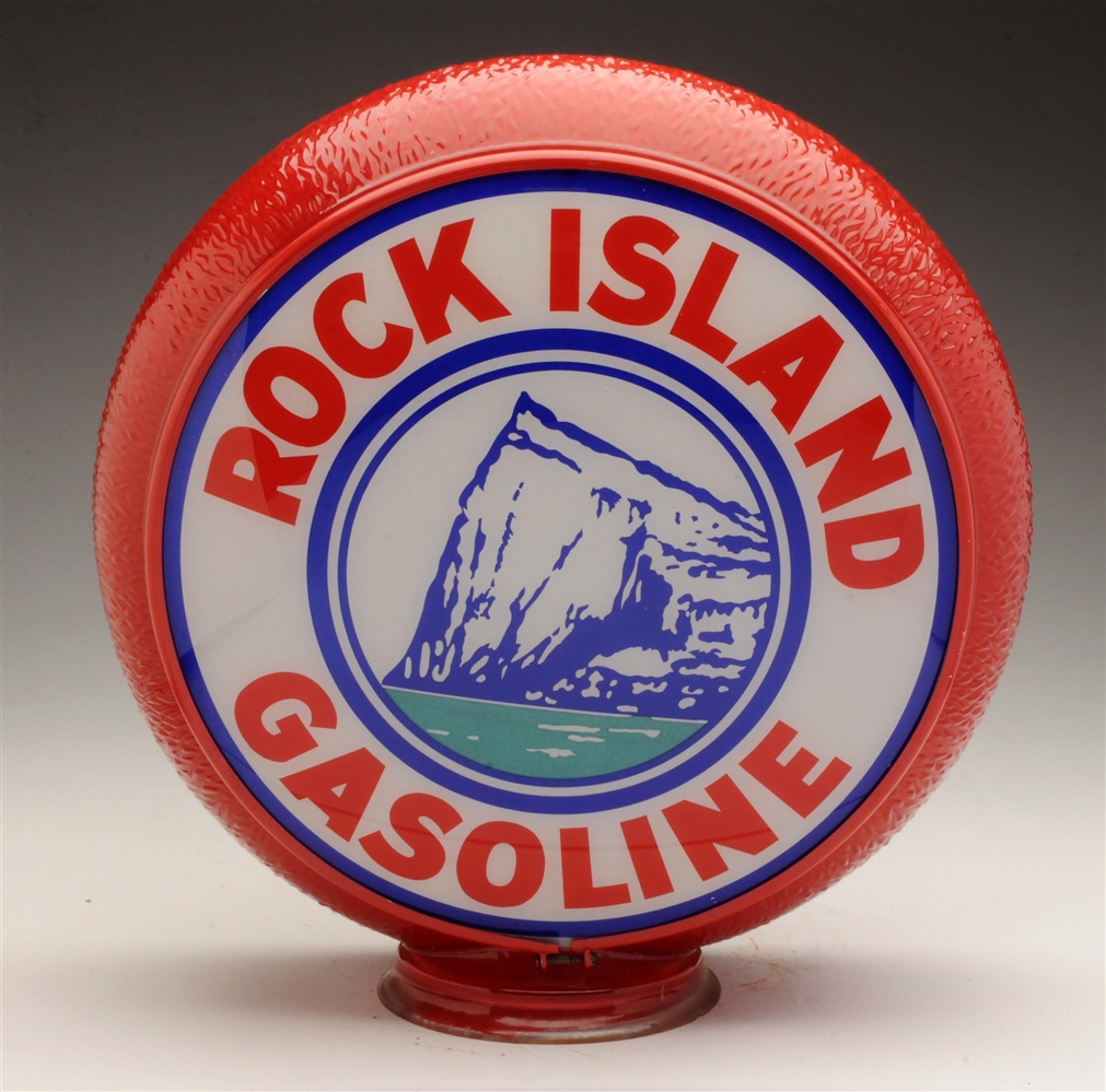 "Rock Island 13-1/2"" Single Lens on Original Ripple Body."