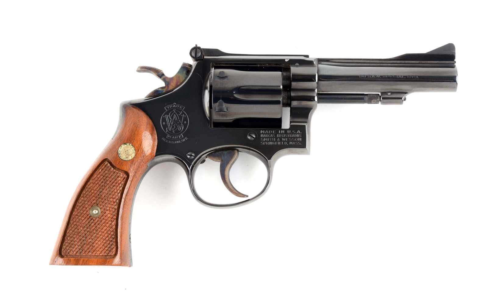 (M) S&W Model 15-3 Double Action Revolver.