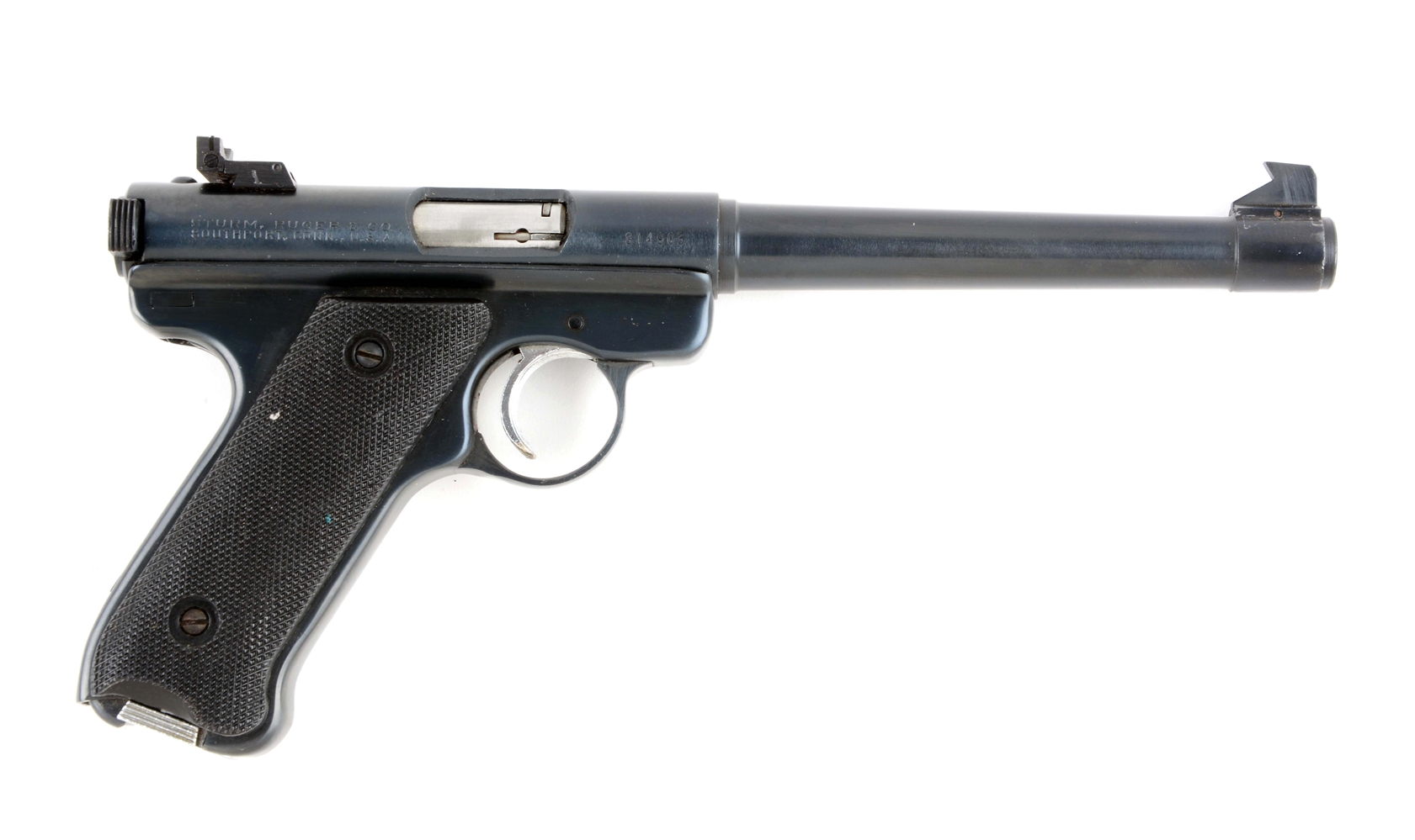 (C) Ruger Model Mark I Semi-Automatic Pistol.