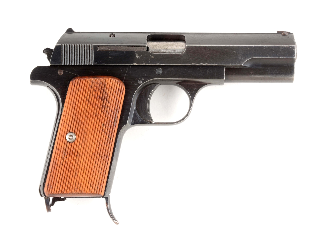 (C) Hungarian Steyr Model 1937 Semi-Automatic Pistol.