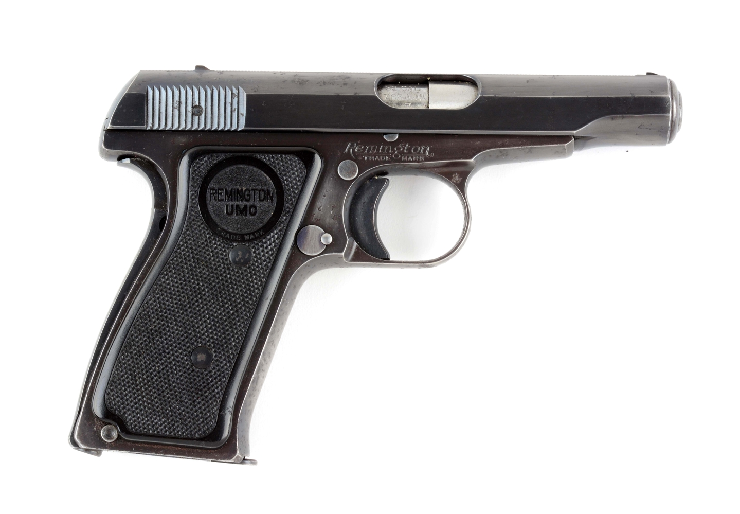 (C) Remington Model 51 Semi-Automatic Pistol.