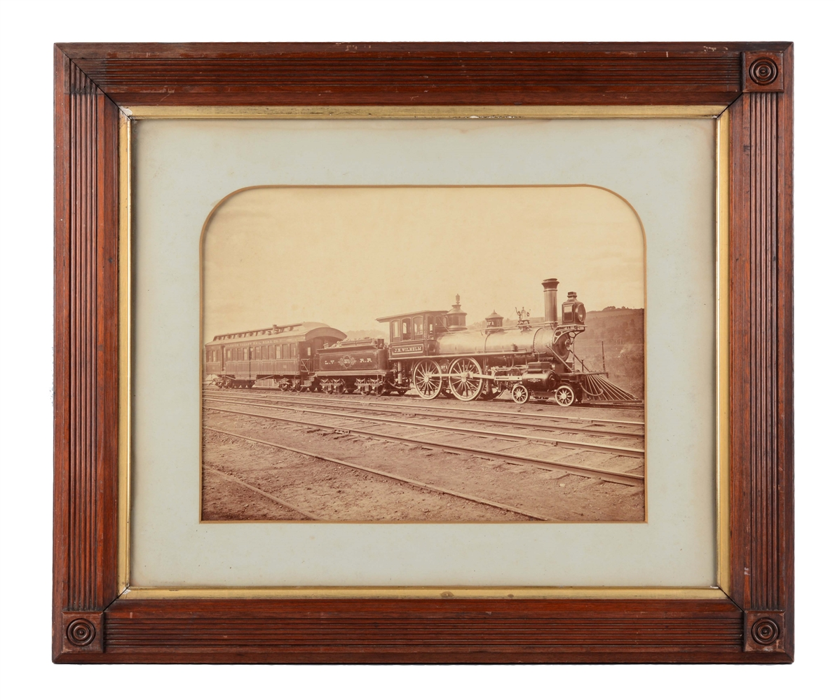 Lehigh Valley Railroad Oversized Photograph.