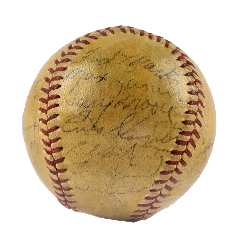 1946 World Champion St. Louis Cardinals Signed Baseball.