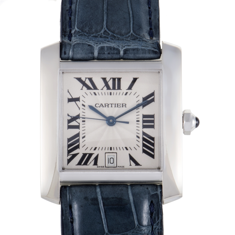 Cartier Tank Francaise Mens Automatic Watch