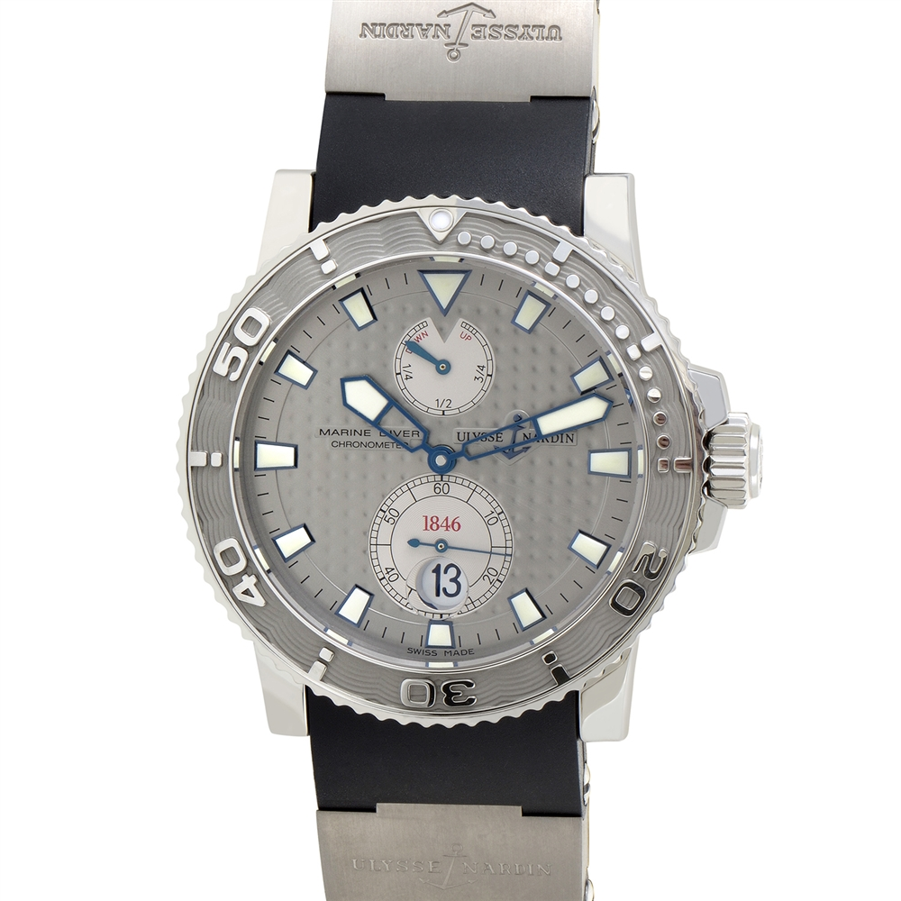 Ulysse Nardin Maxi Marine Diver Mens Automatic Watch 42.7mm