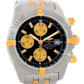 Breitling Chronomat Steel 18K Yellow Gold Watch