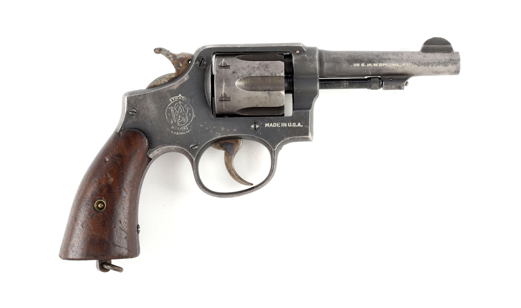 (C) S&W US Navy Marked .38 Special Victory Model Revolver.