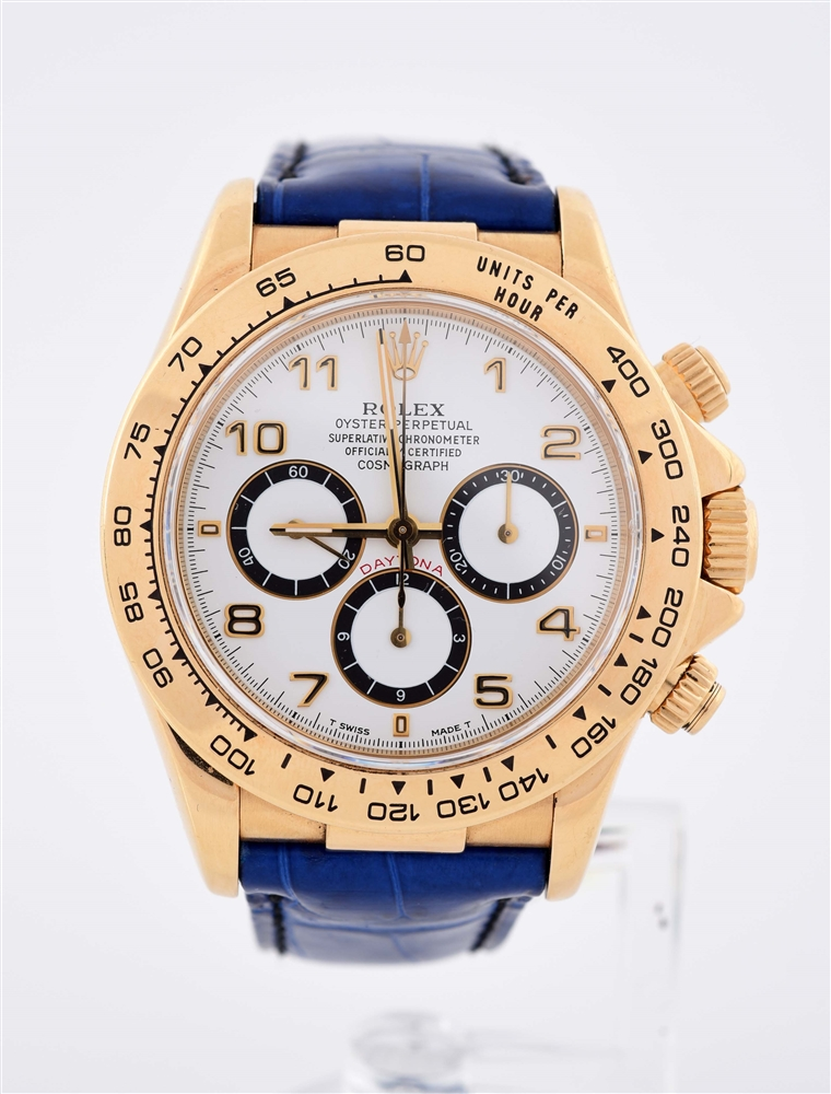 Rolex Cosmograph Daytona 16518 18K Yellow Gold 40mm Mens Watch