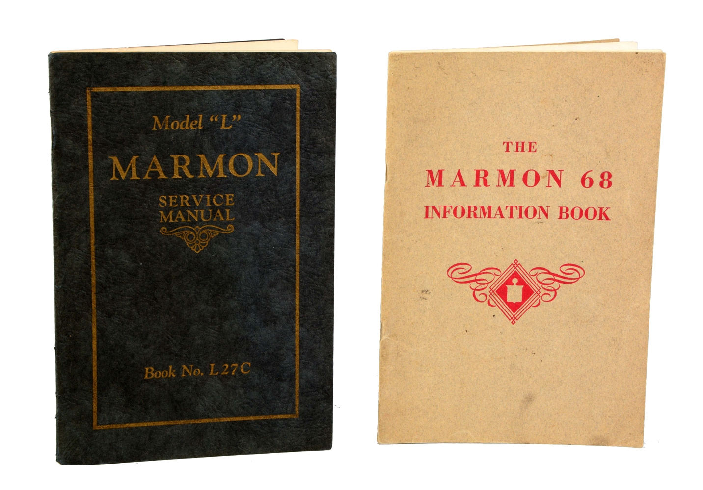 Lot of 2: Marmon Service Manuals