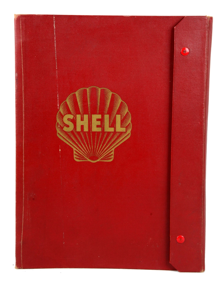 Circa 1959s Shell Book of United States Maps.