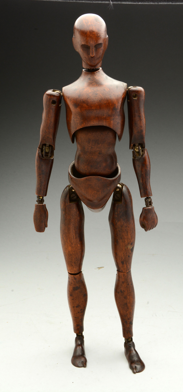 Lot Detail Antique Wooden Artist S Mannequin Amp Horse