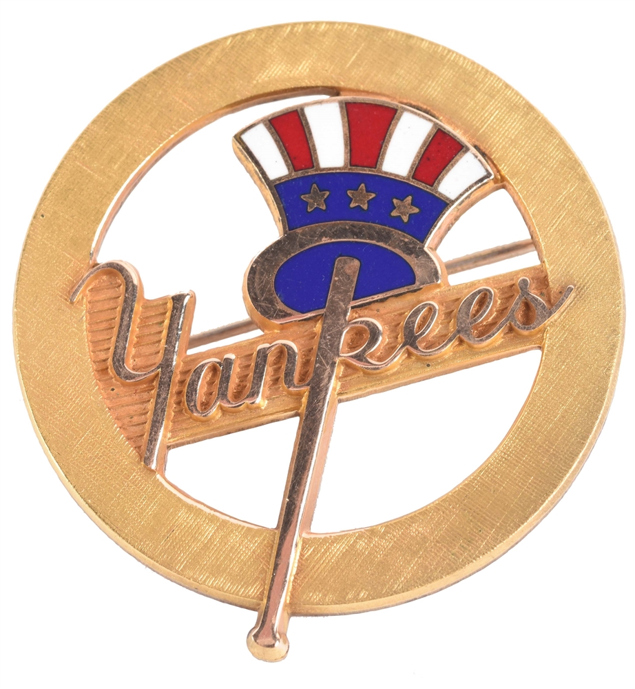 1950s New York Yankees Lapel Pin.