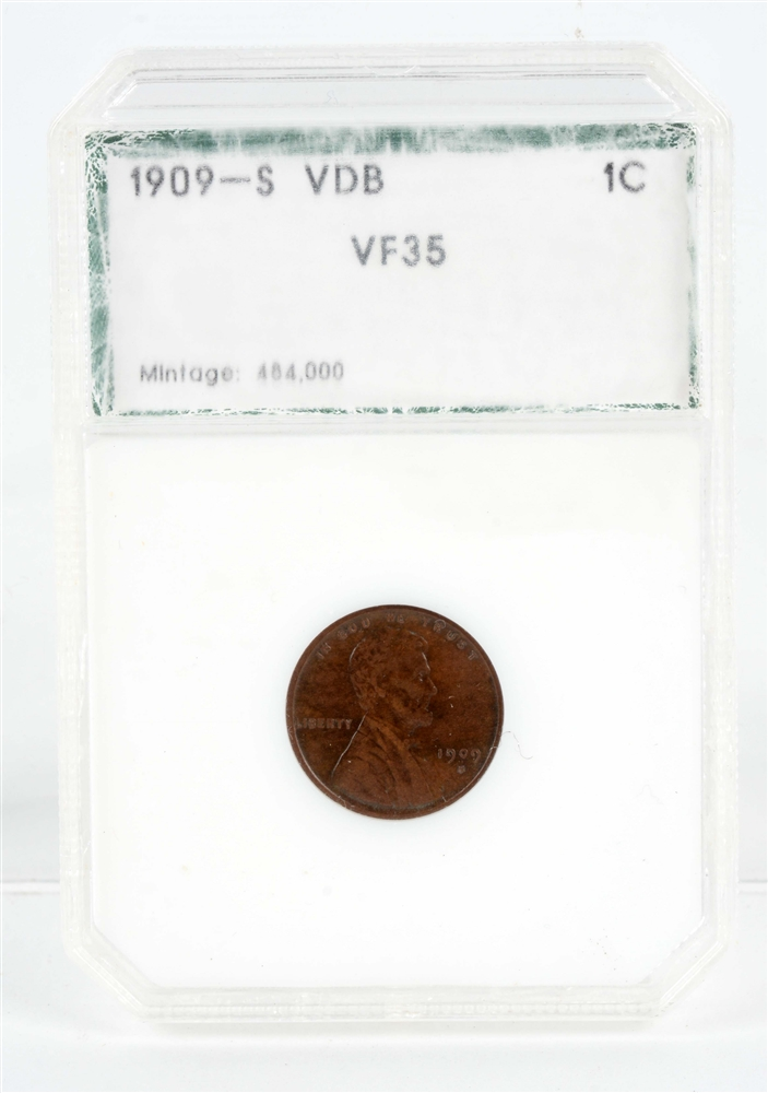 1909 S VDB Lincoln Cent