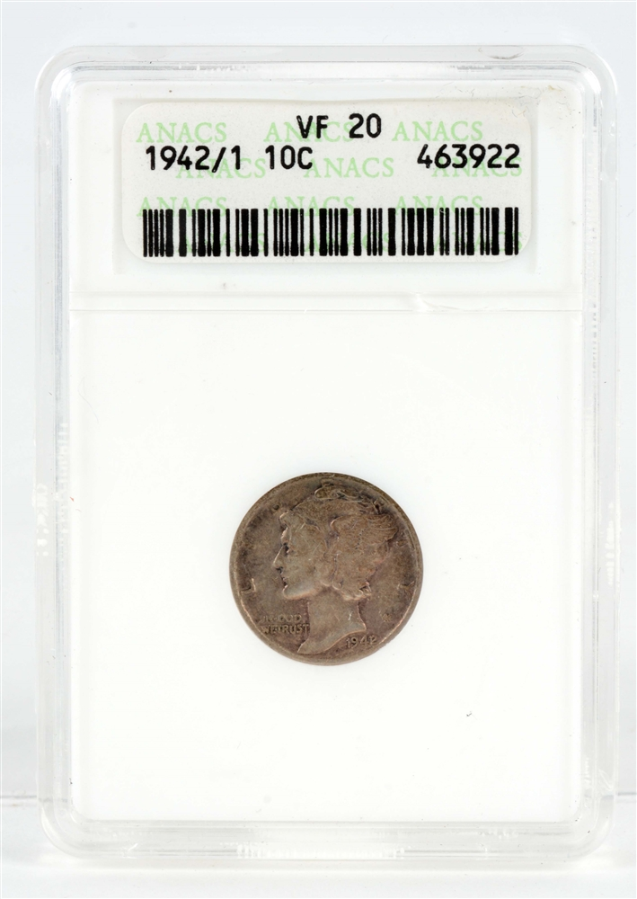 1942/1 Mercury Head Dime.