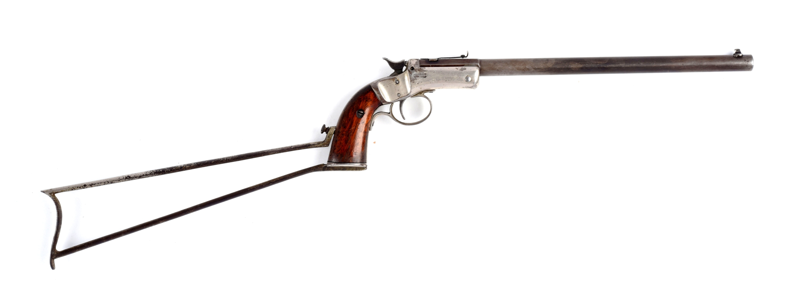 (C) Stevens New Model Pocket Rifle No. 40 with Stock.
