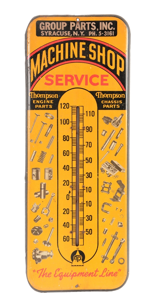 Thompson Products Machine Shop Service Thermometer.