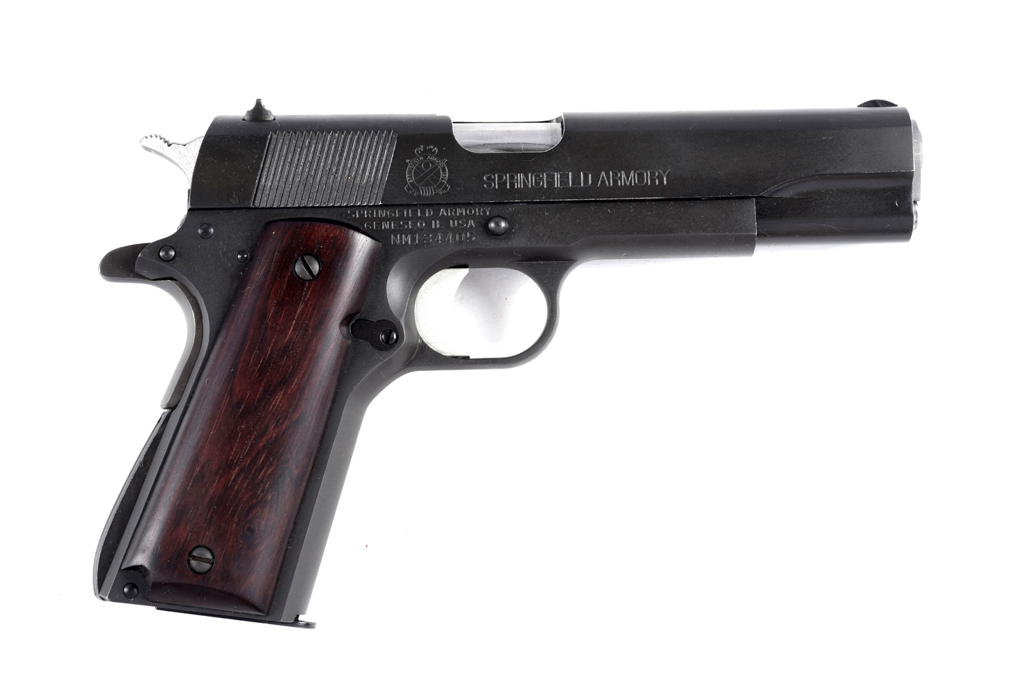 (M) Boxed Springfield Armory Model 1911-A1 Semi Automatic Pistol.