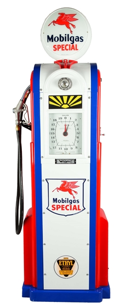 Las Vegas Gas Prices >> Lot Detail - Restored Wayne Model #60 Computing Gas Pump.