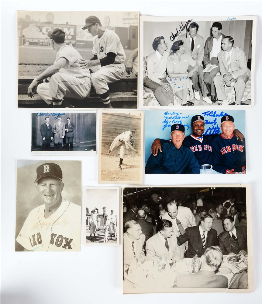 Large Lot of Ted Williams & Boston Red Sox Player Memorabilia.