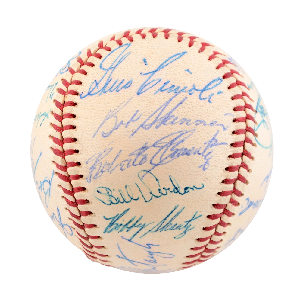 1961 Pittsburgh Pirates Team Signed Baseball.