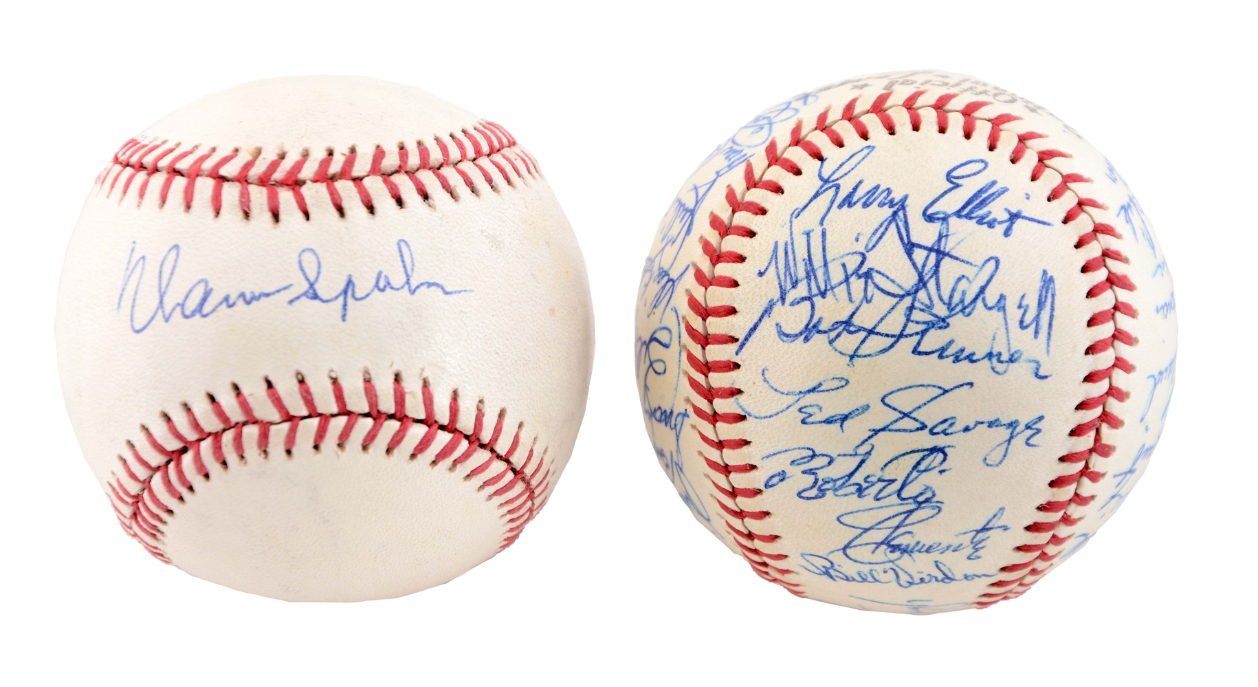 1962 Pittsburgh Pirates Team Signed Baseball.
