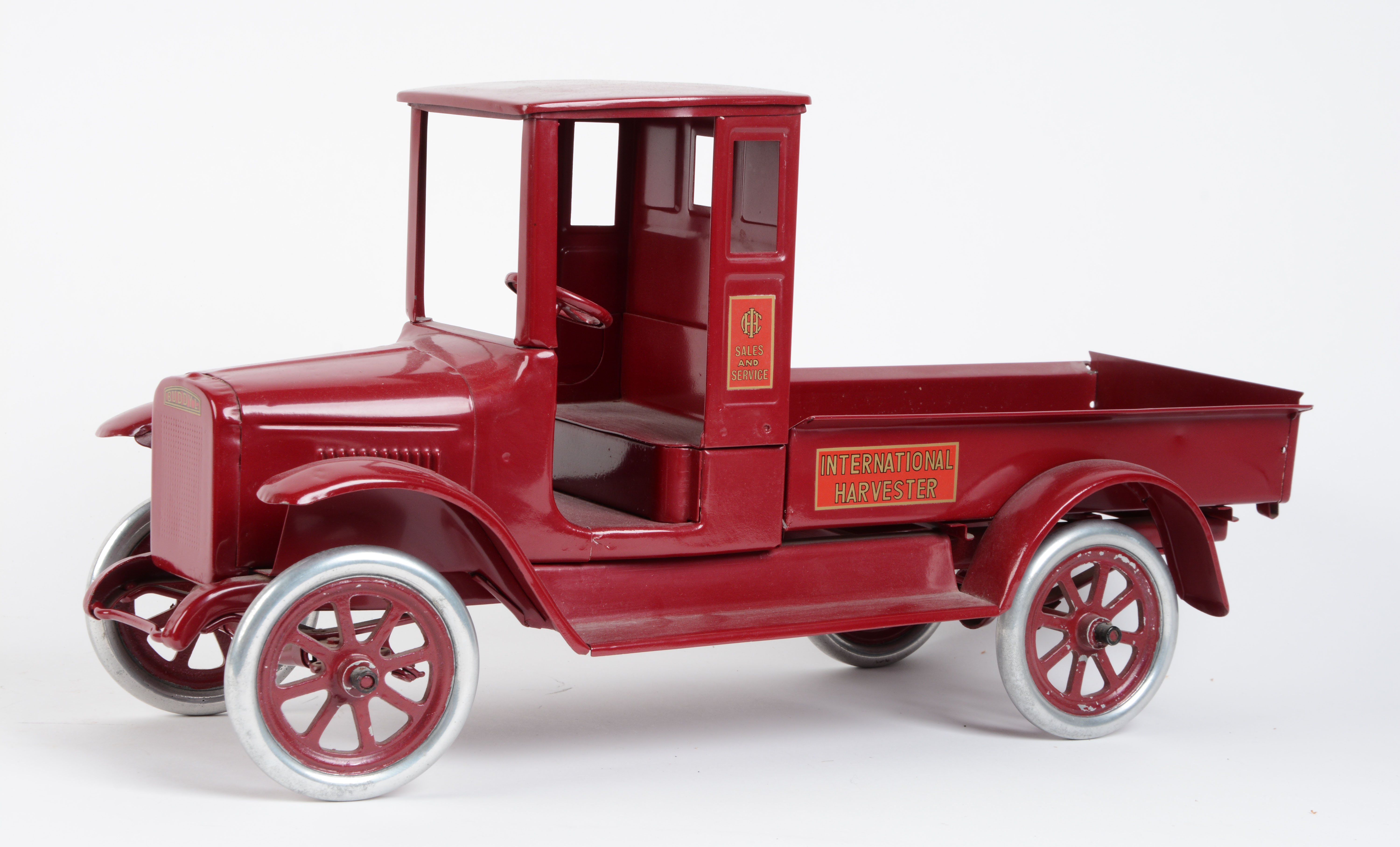 Lot Detail Buddy L Red Baby Truck 1920 S International